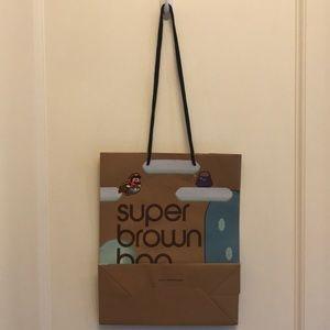 9492e367cc Bloomingdale's Bags   Nintendo Mario Super Brown Bag Bloomingdales ...